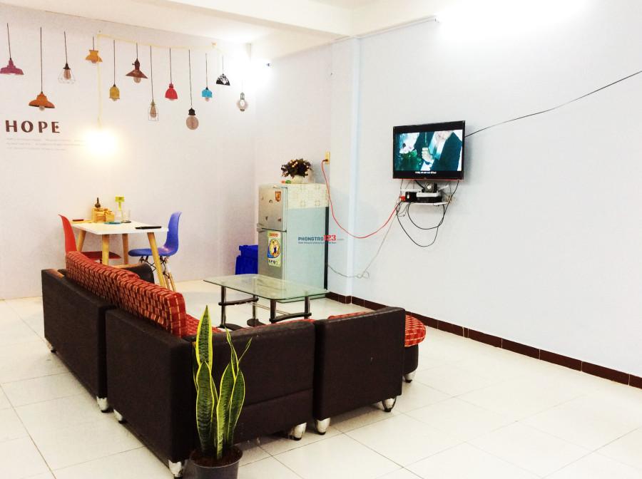 Phòng riêng trong chung cư 2pn, full nội thất