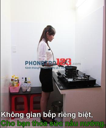 Phòng vip full nội thất Quận 1, nhà mới-sạch sẽ-an ninh, gần chợ Tân Định, chỉ với 6tr/tháng