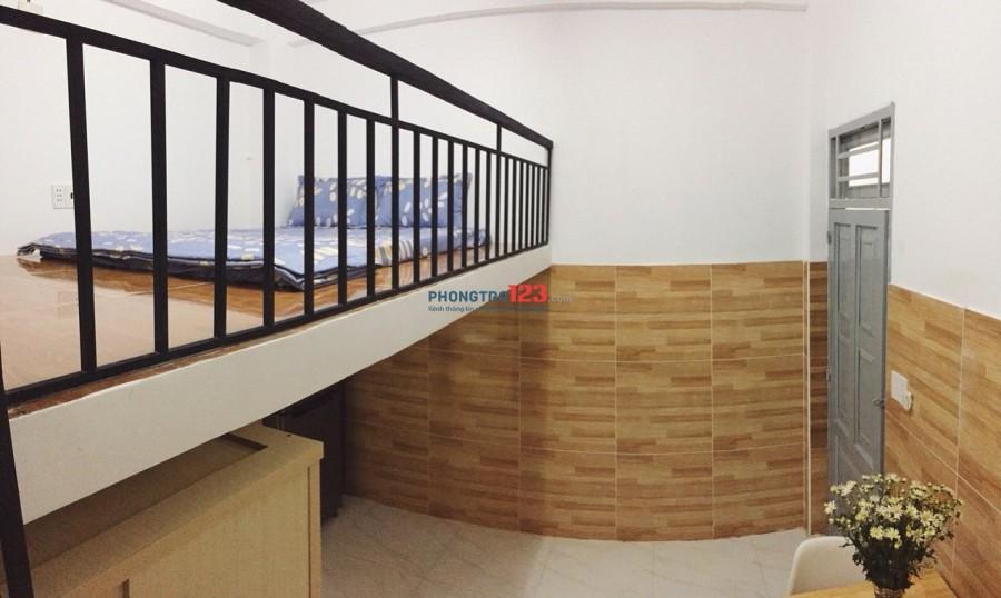 Chính chủ cho thuê phòng mới, full tiện nghi ngay đường Tân Sơn, Tân Bình