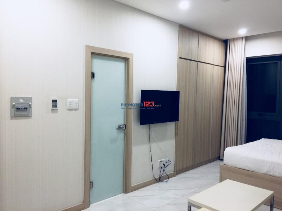 Cho thuê căn hộ studio 35m2 ngay Thạch Thị Thanh, Quận 1