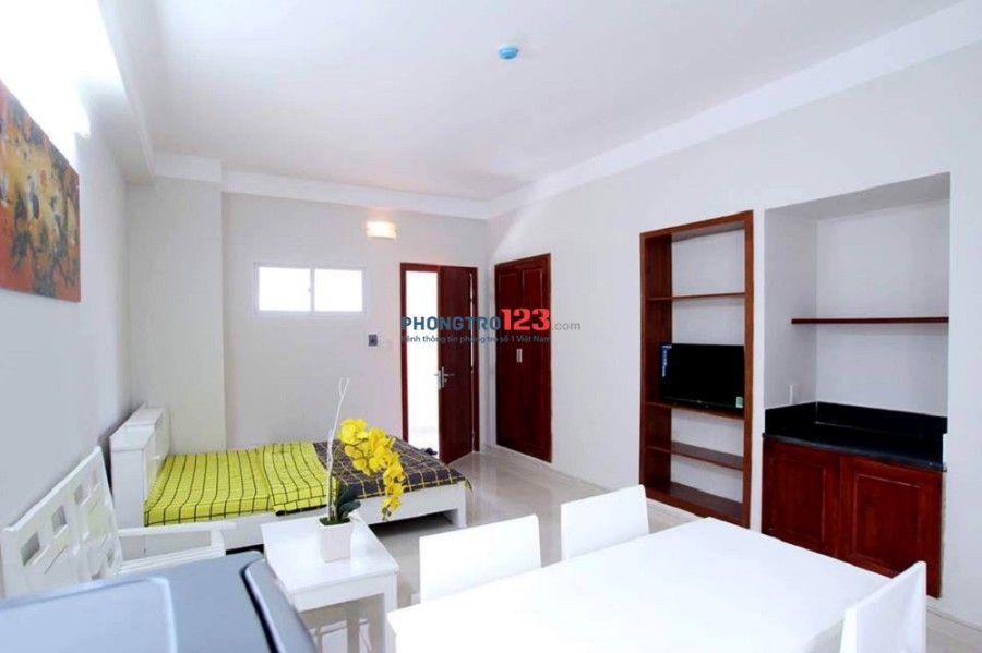 Cho thuê phòng studio full nội thất đường Nguyễn Sỹ Sách, phường 15, quận Tân Bình