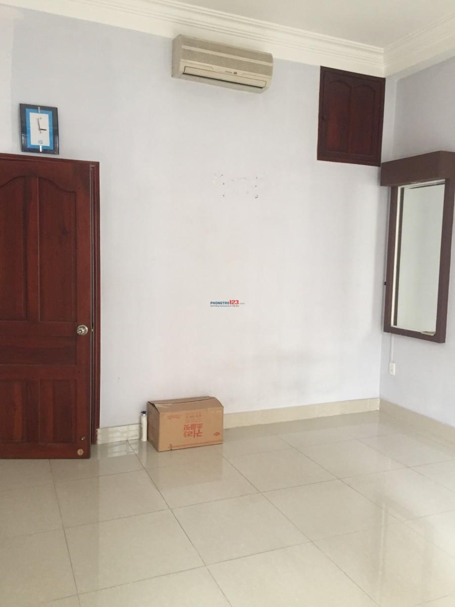 Phòng 25m2 tại Phan Văn Trị, hẻm đối diện Emart, hẻm thông ĐH Công Nghiệp