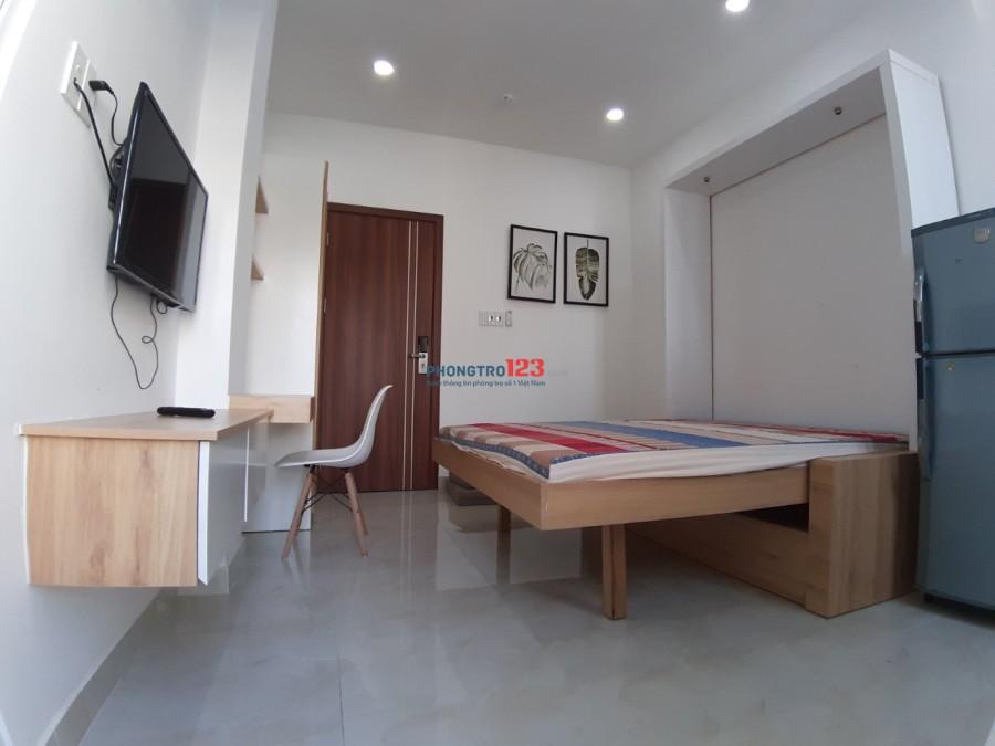 Phòng cho thuê đầy đủ nội thất Quận 7 - Hoàng Quốc Việt giao Huỳnh Tấn Phát