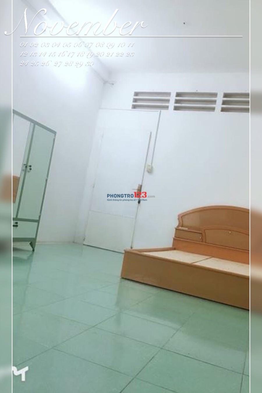 Phòng trọ tại Bình Thạnh gần ĐH Giao Thông Vận Tải