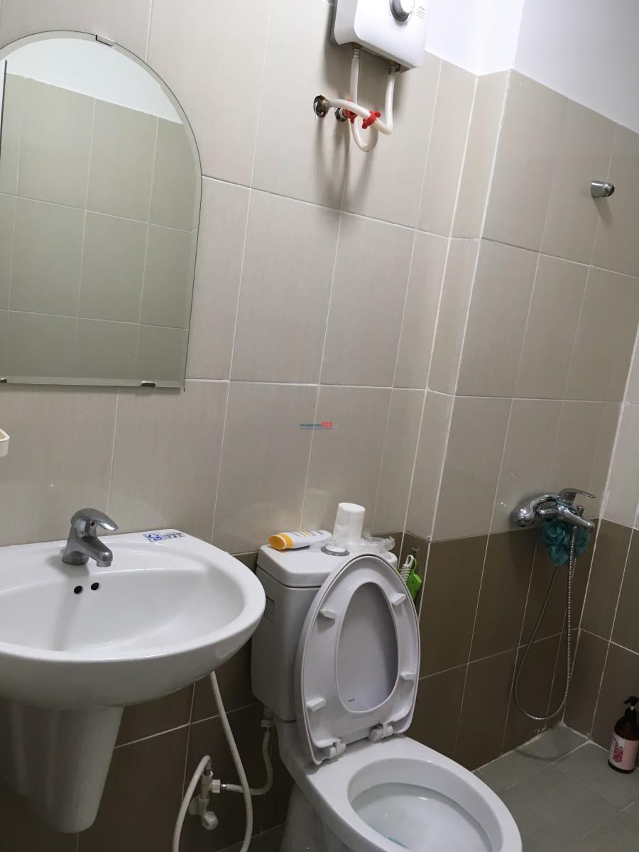 Cho nam thuê lại 1 phòng trong chung cư cao cấp gần BV Đồng Nai (Đồng Khởi)