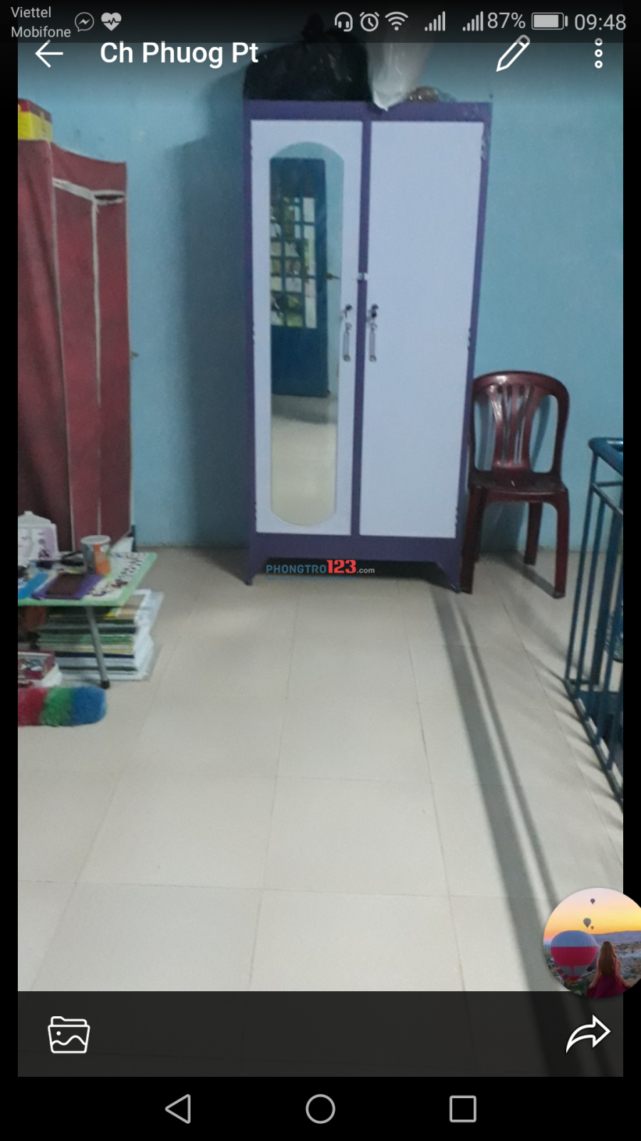 Tìm 2 -3 nữ ở ghép tại Dương Quảng Hàm, Gò Vấp