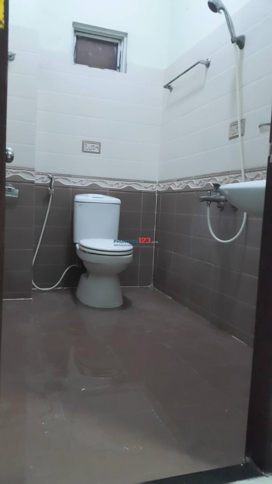 Cho nữ thuê phòng trọ hẻm rộng, có ban công, toilet riêng trong phòng