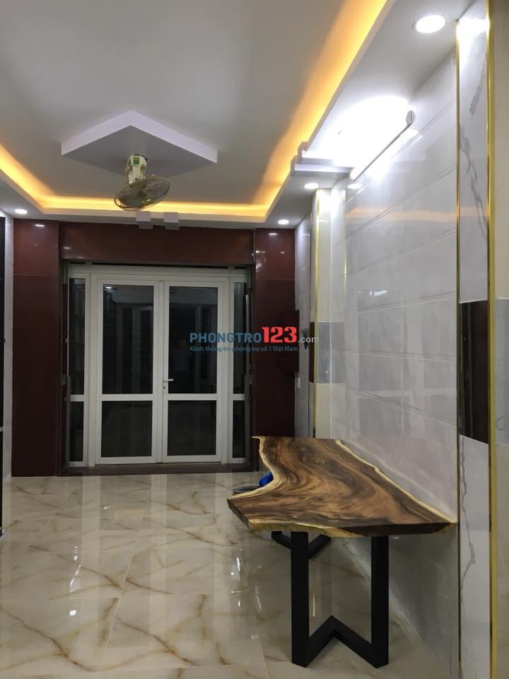 Cho thuê phòng trọ 20m2, cách nhà thi đấu Phú Thọ 500m