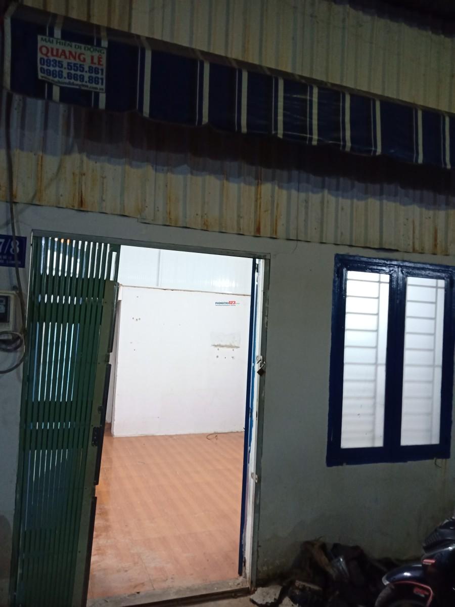 Cho thuê nhà cấp 4,1 phòng ngủ,1 gác xép tại 47/8 đường 18, Bình Hưng Hòa, Bình Tân.