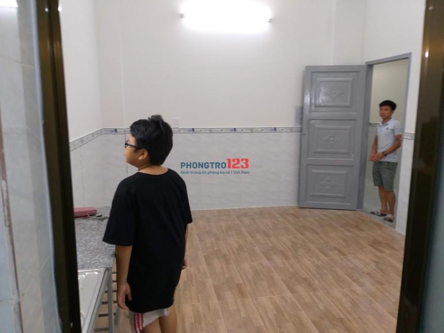 Cho thuê phòng trọ mới xây thoáng mát, giá cực tốt tại Gò Vấp