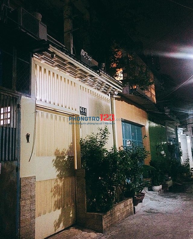 Cho thuê phòng trong nhà nguyên căn ở Phú Nhuận