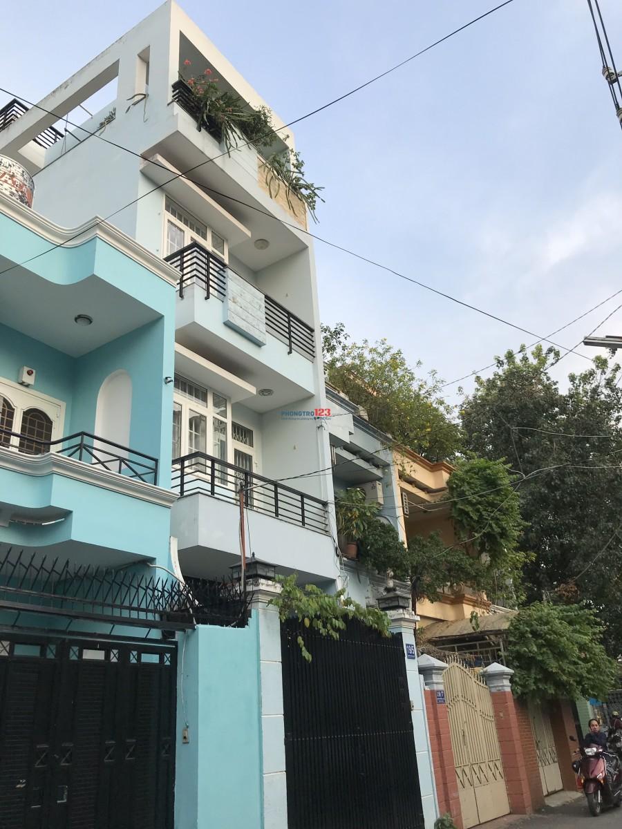 Cho thuê nhà nguyên căn hẻm 8m, 5x15, Nguyễn Trung Trực, P.5, Bình Thạnh