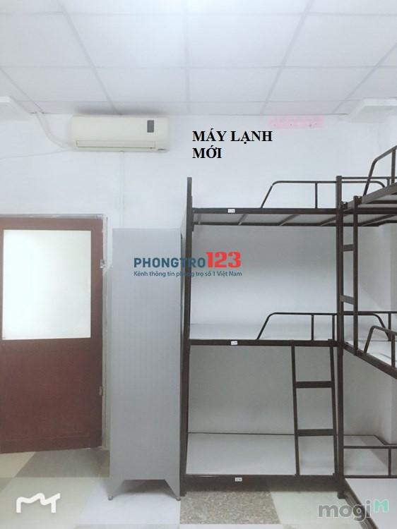 Kí túc xá máy lạnh giá rẻ 700k/tháng bao điện nước tại Tân Bình