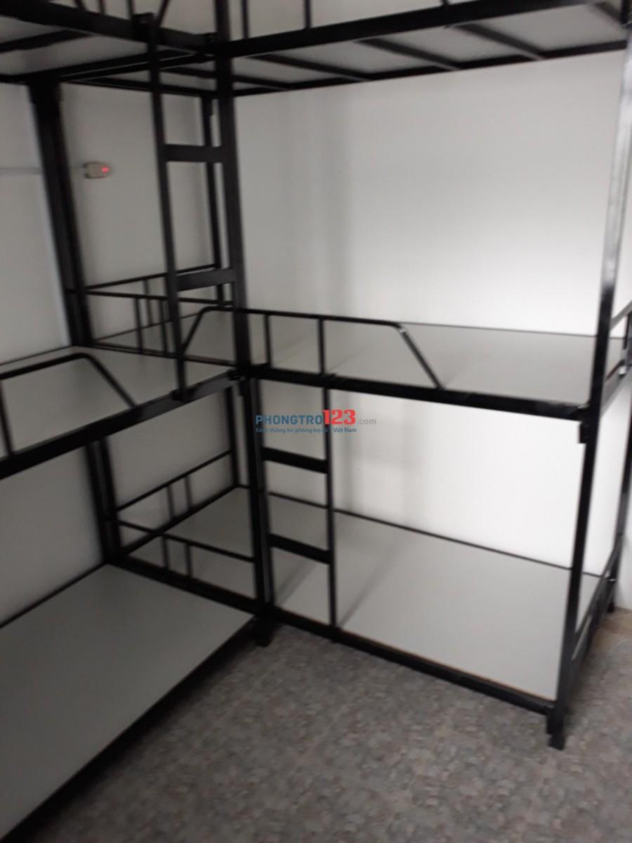 Phòng trọ, Ở GHÉP KTX Quận 10, 27m² giá rẻ có máy lạnh
