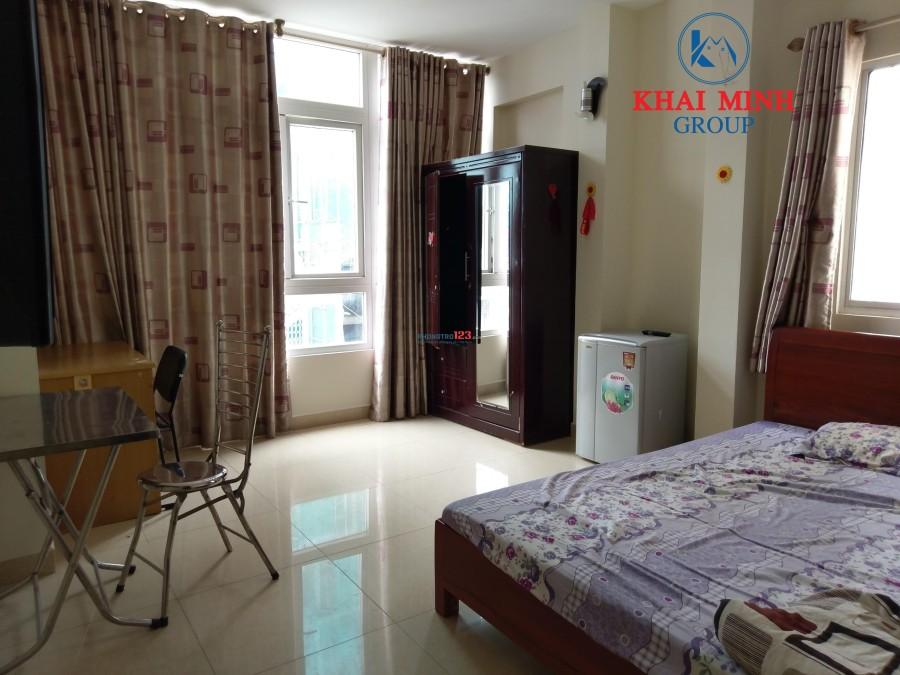 Phòng cao cấp, full nội thất, 168 Cô Giang, Q.1, gần chợ Bến Thành