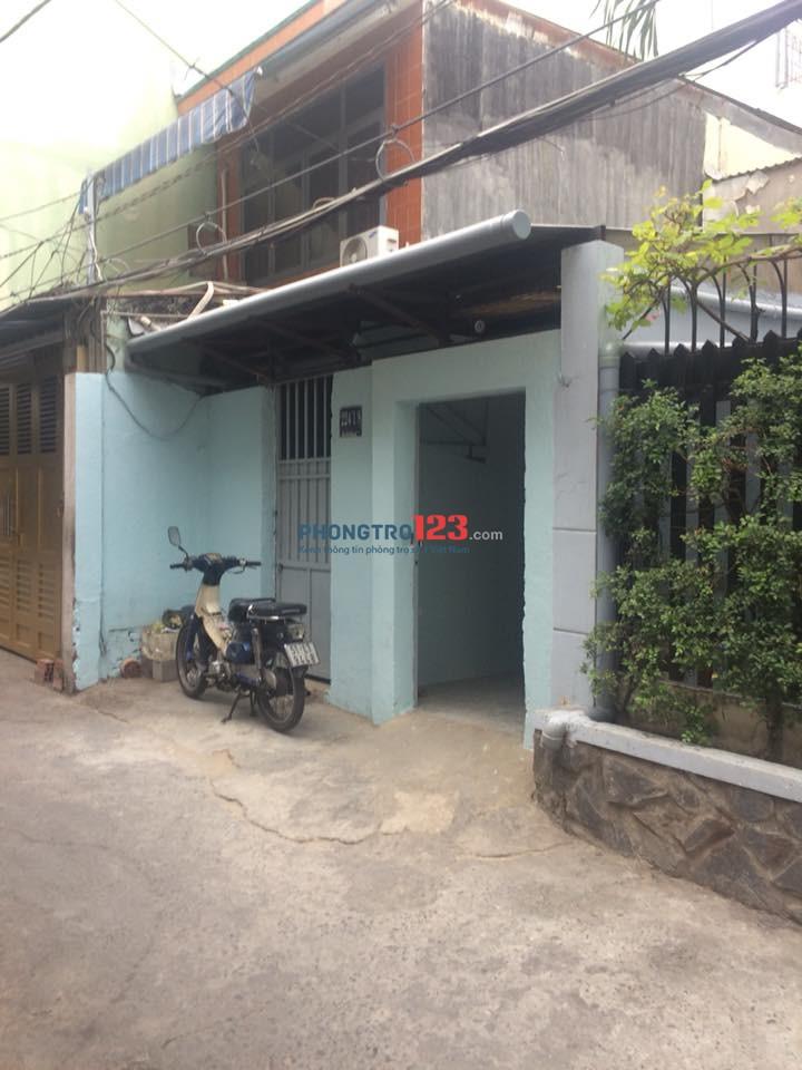 Cho thuê nhà hẻm 224/1/8 Ung Văn Khiêm, P25, Q Bình Thạnh.