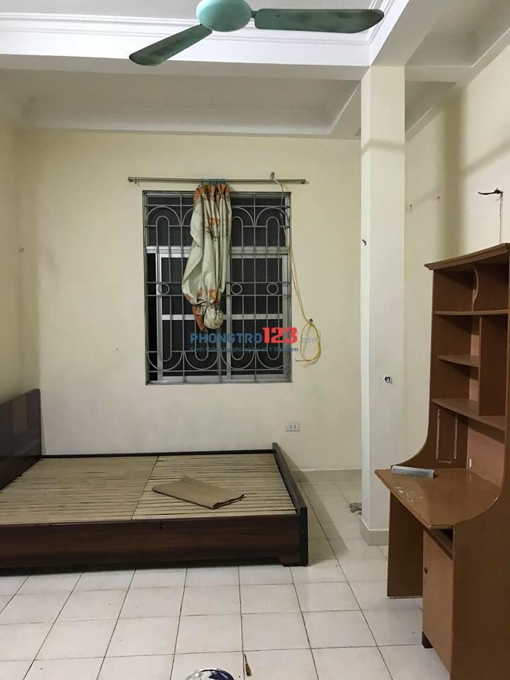 Cho thuê phòng chính chủ tại quận Đống Đa, Hà Nội