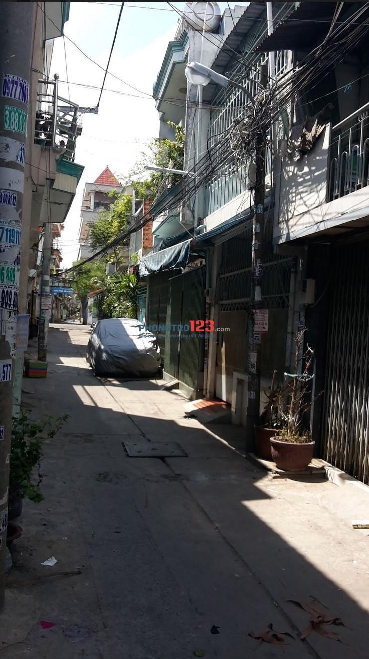 Cho thuê nhà riêng nguyên căn Q.Bình Tân(giáp Q.Tân Phú)