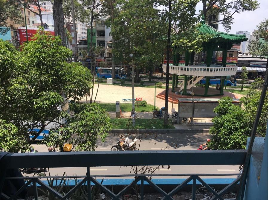 Phòng cho thuê rộng 40m2, rẻ, có nội thất, ban công, Hùng Vương, Quận 5