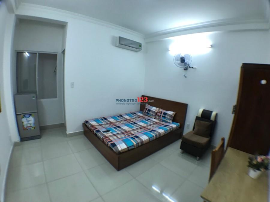 Phòng Full Nội Thất,DT 24m2,Giờ tự do,Giá 5tr tại KDC Kiều Đàm-793 Trần Xuân Soạn,sau CC sunrise city Q7