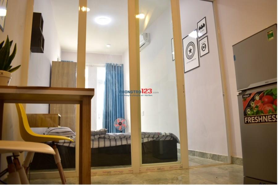 Căn hộ 1PN hiện đại full nội thất mới 100%, Ung Văn Khiêm, Q.Bình Thạnh