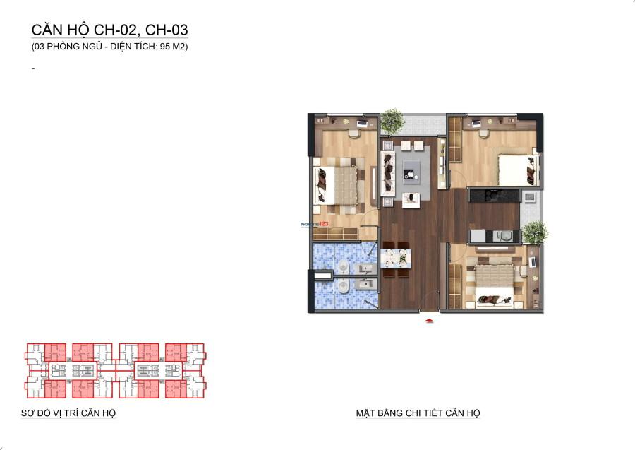 Chính chủ bán gấp căn A2106 95m2 dự án Lạc Hồng Lotus 2 – N01T1