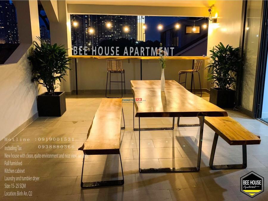 Cho thuê căn hộ Bee house Q.2