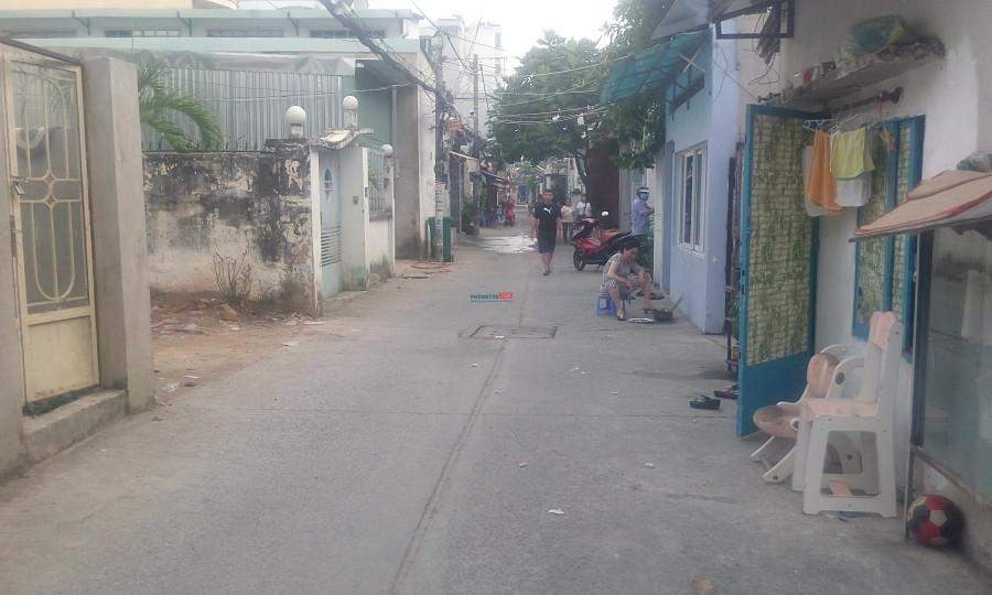 Cho thuê nhà nguyên căn, hẻm xe hơi 5m, 134 Nguyễn Thị Thập, P.Bình Thuận, Quận 7