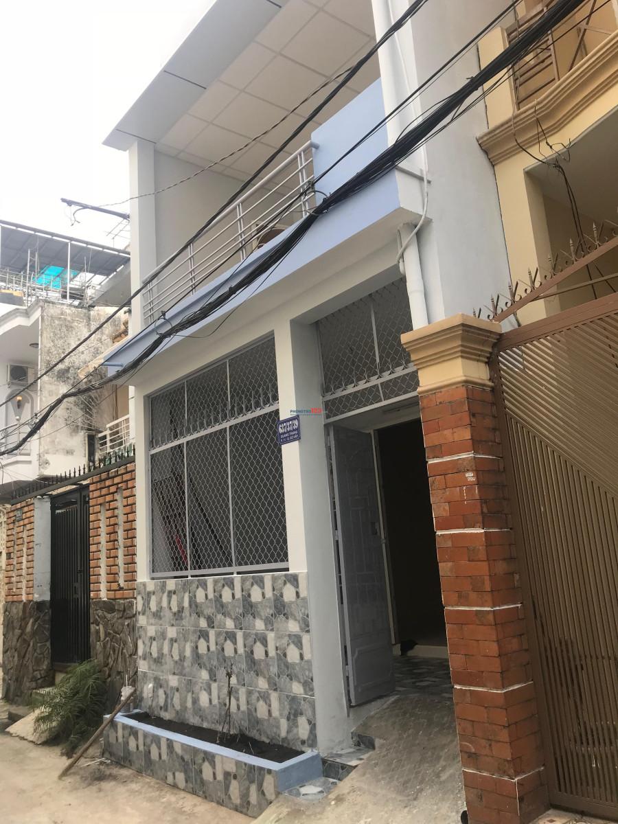 Chính chủ cho thuê nhà 3 phòng ngủ hẻm Co.opmark Quang Trung 56m2, giá 8.5 triệu