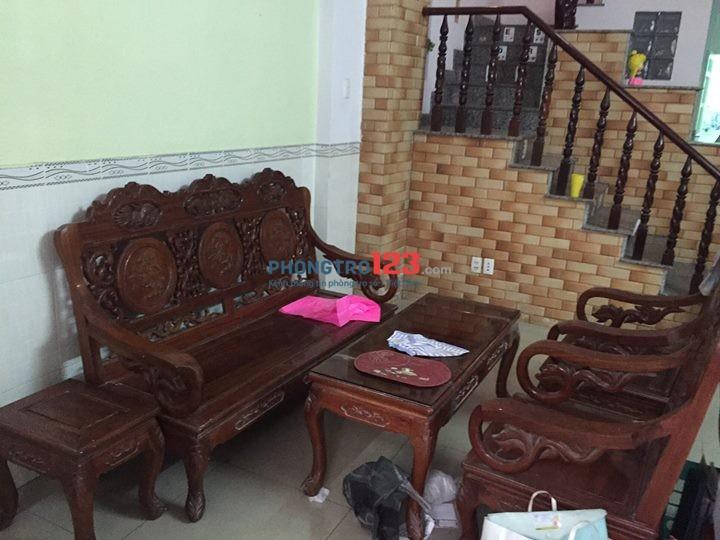 Cho thuê nhà nguyên căn dài hạn gần cầu Bình Triệu