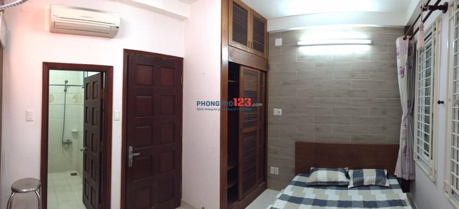 Phòng cho thuê đầy đủ nội thất ngay cầu nguyễn văn cừ Q5