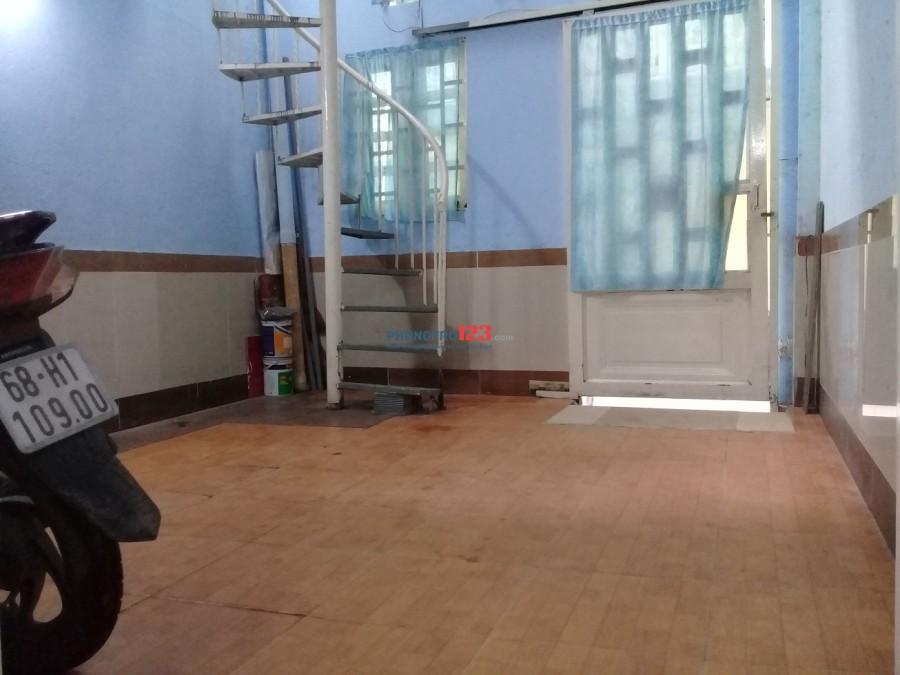 Nhà trọ ở lầu 1 Quận 7 gần Lotte Mart cho thuê