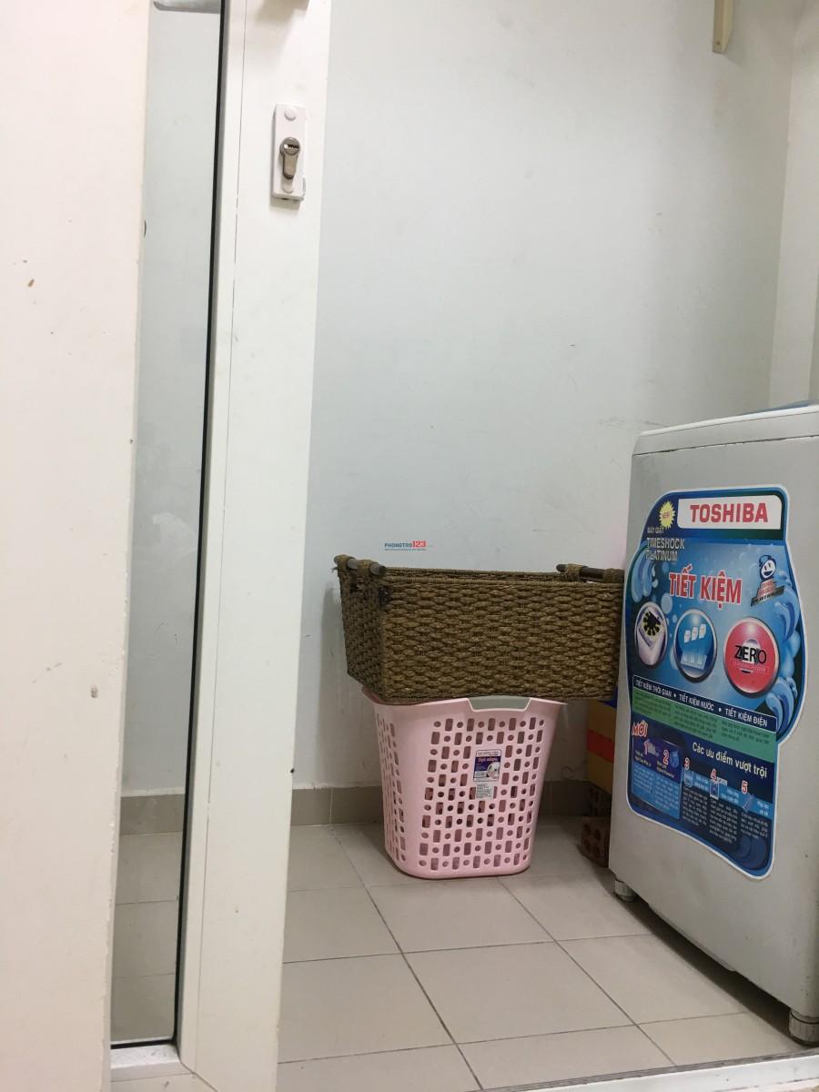 Tìm nữ ở ghép phòng gần trung tâm Thành Phố HCM