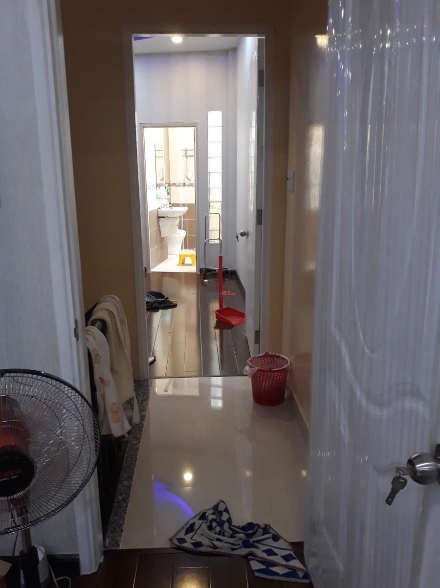 Cho thuê nhà trong hẻm khong ngập nước vào ở liền Quận 8