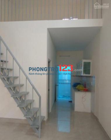 Cho thuê nhà nguyên căn mới xây 52m2 quận Tân Phú
