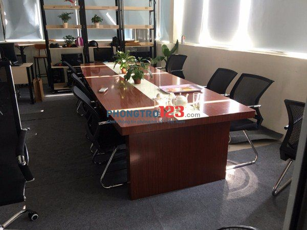 Tòa nhà văn phòng 64 Võ Thị Sáu, Q.1, trọn gói 18m2 vừa 7-8 người, đối diện công viên Lê Văn Tám, 9tr3
