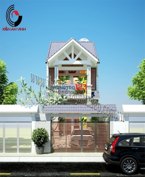 Cho thuê nhà mặt tiền Thạnh Xuân 38, Q.12, dtsd 84m²