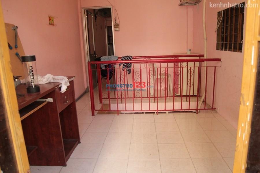 Nhà nguyên căn an ninh, rộng không ngập nước kv trung tâm Bình Thạnh cần 2 nam ở ghép 1,6tr/th/ người