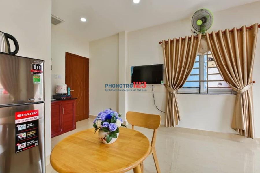Cho thuê phòng chính chủ tại Trần Quang Diệu, Quận 3 đầy đủ nội thất