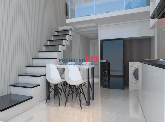 Cho thuê căn hộ mini 1PN và 2PN xinh xắn đường Trần Cao Vân giá 2tr4, trung tâm thành phố