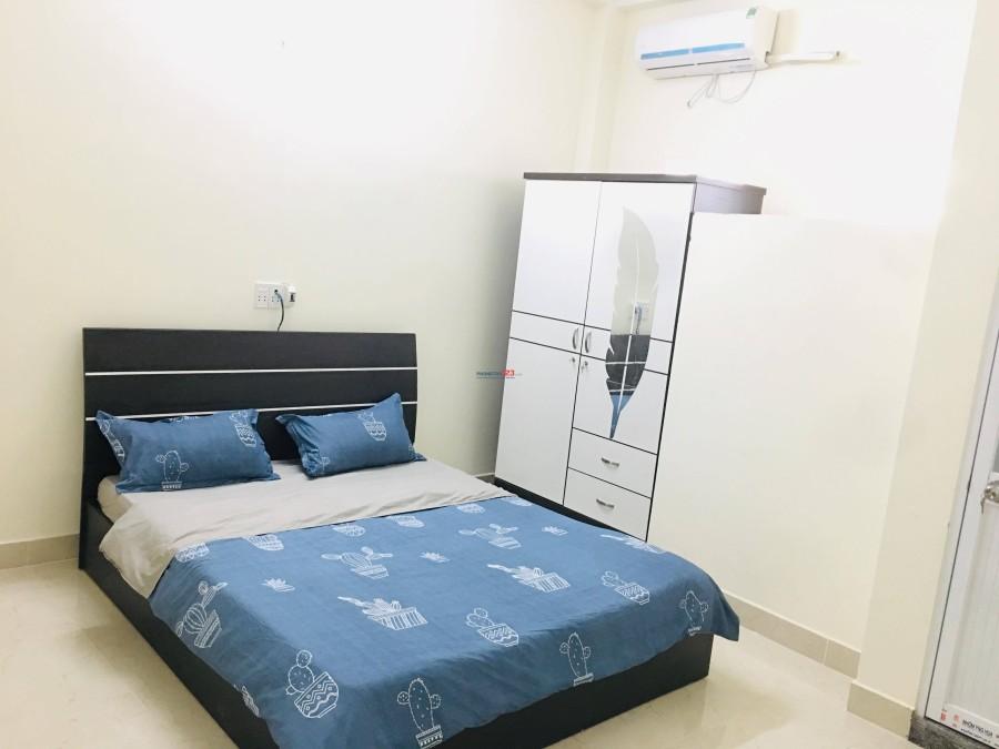 Cho thuê phòng mới xây 100% Q.Tân Bình trung tâm các quận 11, 10 Tân Phú. Giờ giấc tự do