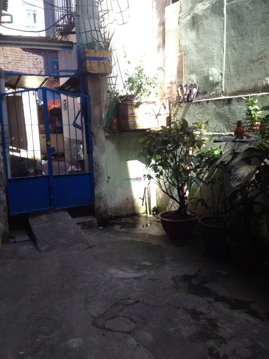 Cho thuê phòng trọ số hẻm q32 Nguyễn Hữu Hào, Q.4
