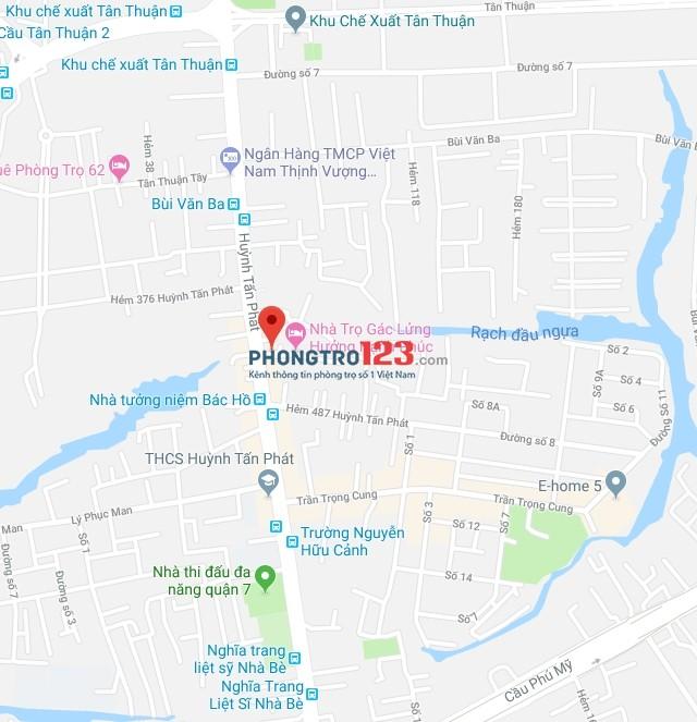 Phòng ML,Gác lửng,Ban công,Sân thượng thoáng mát,Giờ TD,Giá 3,9tr tại 457/29 HTP,gần KCX Tân Thuận,Q.7-0903893998