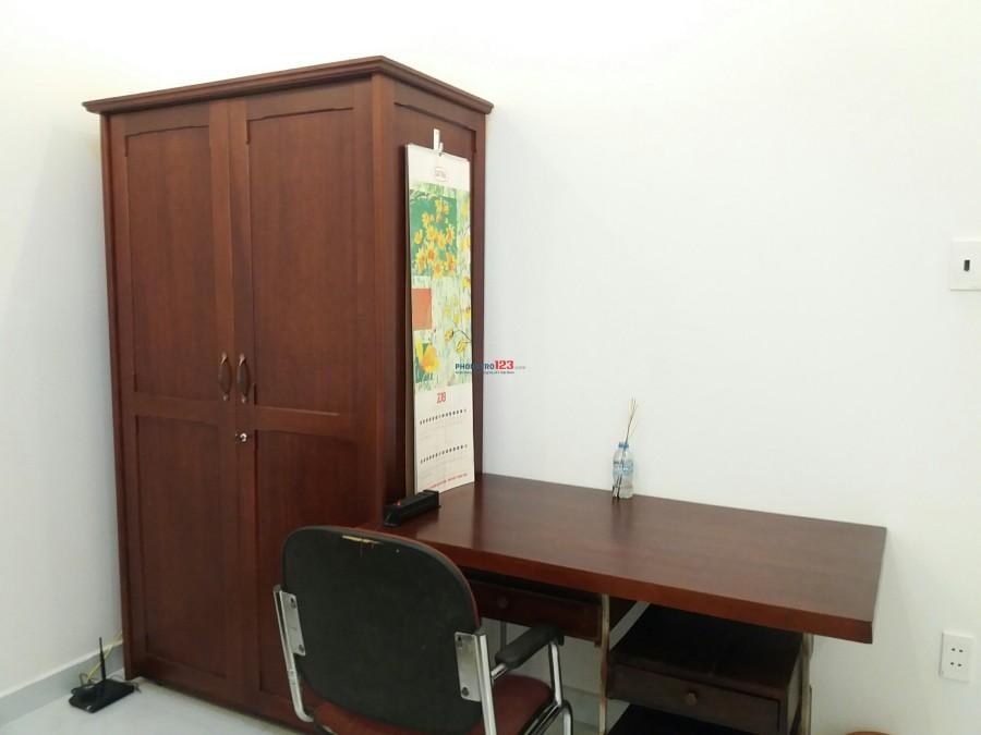 Phòng trọ 20m2 tại đường Phạm Viết Chánh, Q.Bình Thạnh, rất gần Q.1