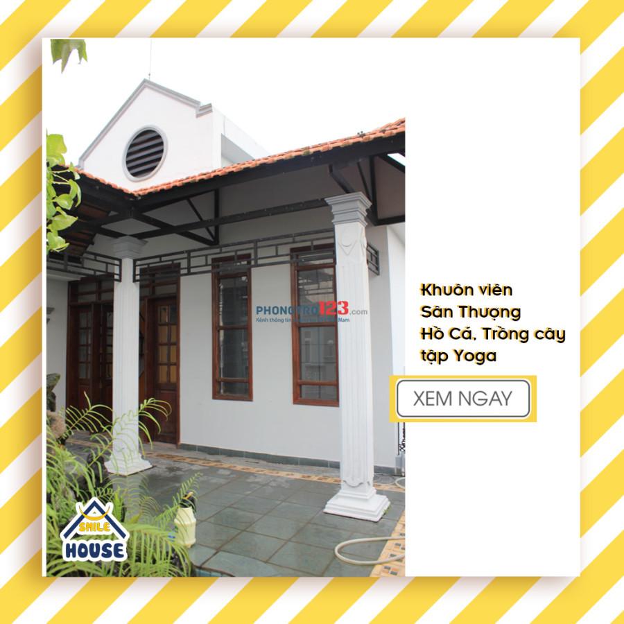 Cho thuê Homestay ký túc xá chuẩn Singapore nằm trong khuôn viên biệt thự siêu đẹp