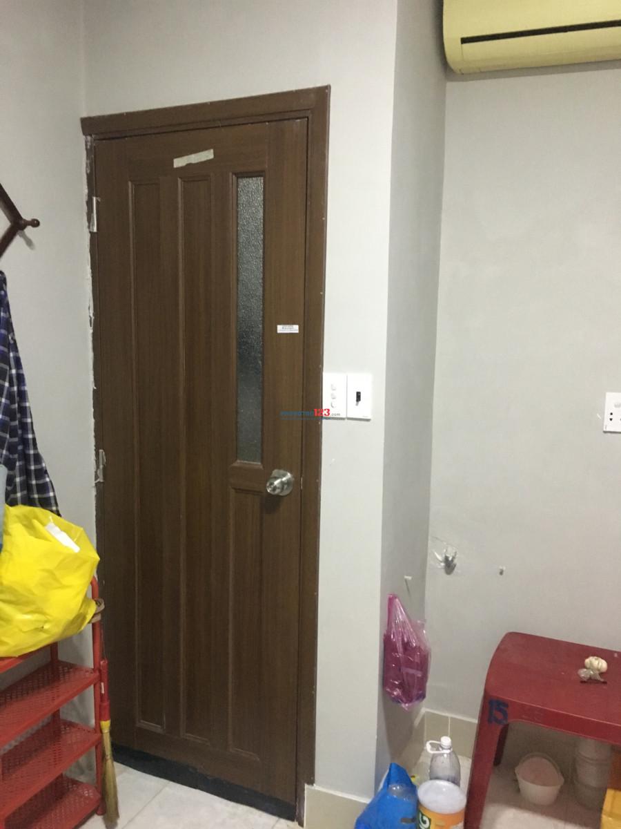 Phòng 20m2 hẻm 451/17Tô Hiến Thành 3tr/tháng có máy lạnh giờ tự do ở được 1-3 người, wifi free