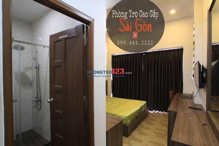 Phòng trọ quận Tân Bình gần sân bay đầy đủ tiện nghi