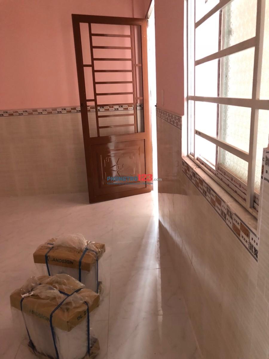 Nhà mới xây, cho thuê phòng trọ, kiot, sân thượng