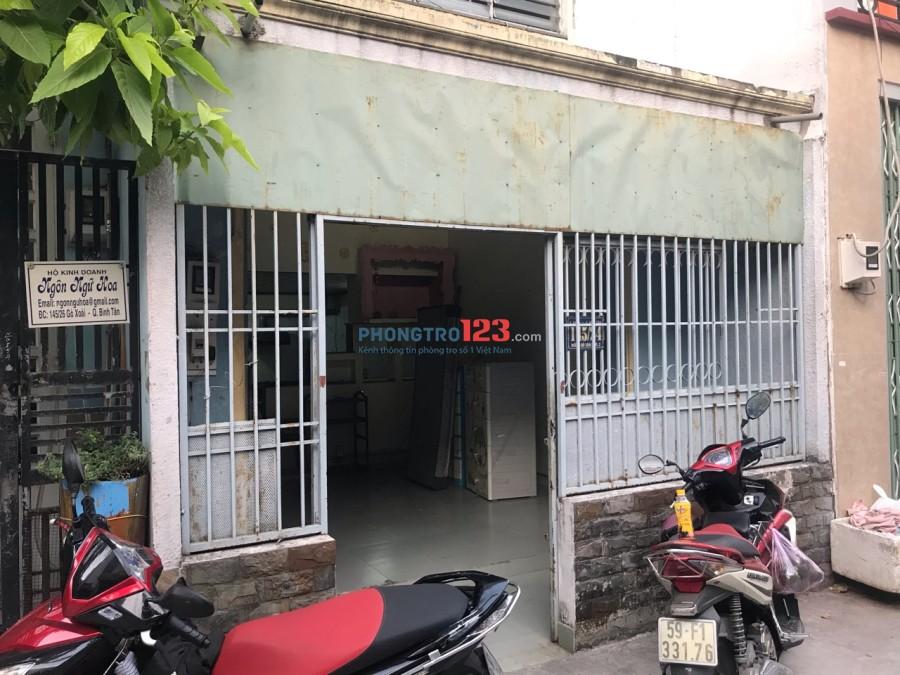 Chính chủ cho thuê nhà nguyên căn đường gò xoài, hẻm 10m LH:0983599071
