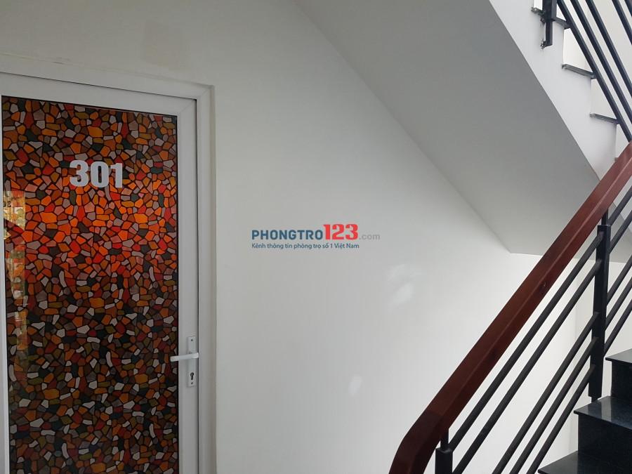Phòng mới xây cho thuê 42/36C4 Ung Văn Khiêm,  giá từ 3,5tr (bình dân) đến 5tr (cao cấp)